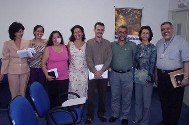 Membros do  Instituto de Intercâmbio do Pensamento Espírita de Pernambuco (IPEPE)