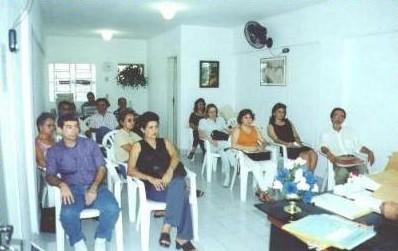 Público na capacitação interna do IPEPE.