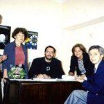 """Assinatura do convênio para o curso """"Educação para a Cidadania"""""""