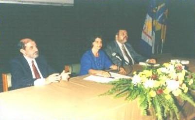 Evento de apresentação do IPEPE no Centro de Convenções - PE (1997).