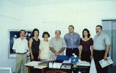 seta.gif (58 bytes)Itamar Noronha, Ivane Pedrosa, Márcia Áurea, José Luiz, Gezsler West, Martha Lúcia, Fernando Lins.