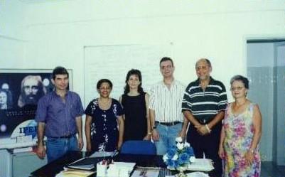 Edinaldo Sales, Telzita Lins, Glauce Pedrosa, Fernando Henrique, Milton Santana, Vera Lúcia.