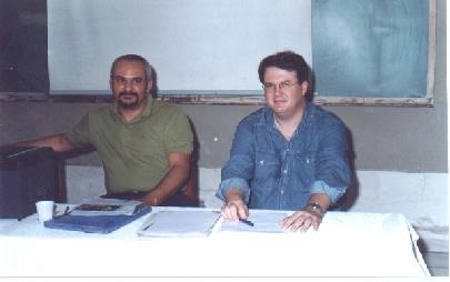 Carlos Almeida (E) e Wagner Frazão (D).